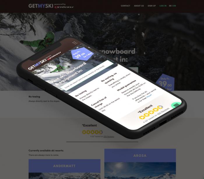 Entwicklung einer MVP App – Stöckli