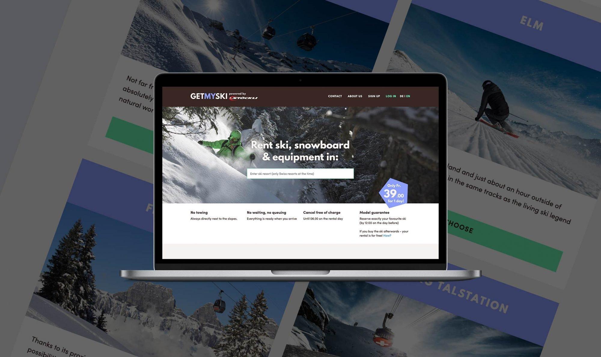 MVP app development – Stöckli
